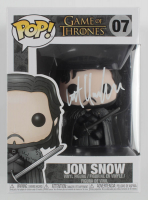 "Kit Harington Signed ""Game of Thrones"" #7 Jon Snow Funko Pop! Vinyl Figure (Radtke COA) at PristineAuction.com"