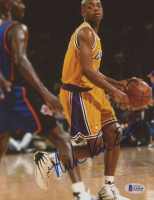 Nick Van Exel Signed Lakers 8x10 Photo (Beckett COA) at PristineAuction.com