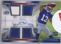 Odell Beckham Jr. 2014 Topps Prime Autographed Relics Level 5 #PVOB at PristineAuction.com