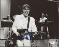 David Byrne Signed 8x10 Photo (PSA COA) at PristineAuction.com