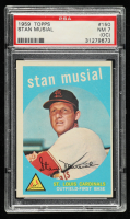 Stan Musial 1959 Topps #150 (PSA 7) (OC) at PristineAuction.com