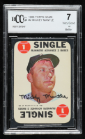 Mickey Mantle 1968 Topps Game #2 (BCCG 7) at PristineAuction.com
