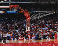 Dominique Wilkins Signed Hawks 8x10 Photo (TriStar Hologram) at PristineAuction.com