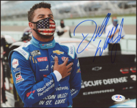 "Darrell ""Bubba"" Wallace Signed NASCAR 8x10 Photo (PSA COA) at PristineAuction.com"