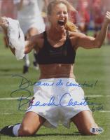 "Brandi Chastain Signed Team USA 8x10 Photo Inscribed ""Dreams Do Come True!"" & ""USA"" (Beckett COA) at PristineAuction.com"