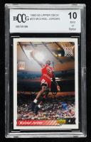 Michael Jordan 1992-93 Upper Deck #23 (BCCG 10) at PristineAuction.com
