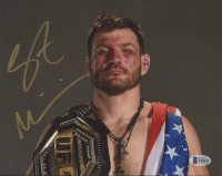 Stipe Miocic Signed 8x10 Photo Inscribed (Beckett COA) at PristineAuction.com