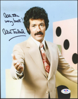 "Alex Trebeck Signed ""Jeopardy"" 8x10 Photo Inscribed ""All The Very Best"" (PSA COA) at PristineAuction.com"