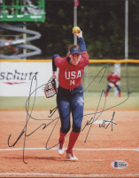 "Monica Abbott Signed Team USA 8x10 Photo Inscribed ""USA"" (Beckett COA) at PristineAuction.com"