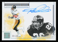 Rod Woodson 2019 Panini Impeccable Indelible Ink Silver #23 at PristineAuction.com