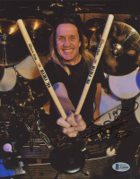 "Nicko McBrain Signed Iron Maiden 8x10 Photo Inscribed ""2020"" (Beckett COA) at PristineAuction.com"