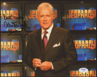 "Alex Trebek Signed ""Jeopardy!"" 8x10 Photo Inscribed ""Best Wishes!"" (PSA COA) at PristineAuction.com"