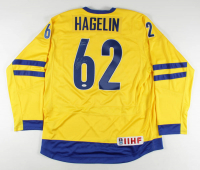"""Carl Hagelin Signed 2014 Olympics Team Sweden Jersey Inscribed """"2014 Olympics"""" (JSA COA) at PristineAuction.com"""