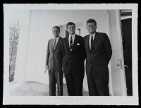 "Historical Photo Archive - ""Brothers Kennedy-Oval Office"" Limited Edition 16.5x22 Fine Art Giclee on Paper #/375 (PA LOA) at PristineAuction.com"