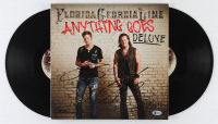 "Tyler Hubbard & Brian Kelly Signed ""Anything Goes: Deluxe"" Vinyl Record Album (Beckett Hologram) at PristineAuction.com"