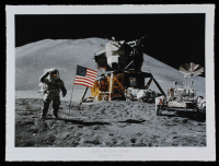 "Historical Photo Archive - ""Apollo 15 Lunar Module"" Limited Edition 16.5x22 Fine Art Giclee on Paper #/375 (PA LOA) at PristineAuction.com"