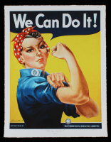 "Historical Photo Archive - ""We Can Do It!"" Limited Edition 17.25x22.25 Fine Art Giclee on Paper #/375 (PA LOA) at PristineAuction.com"