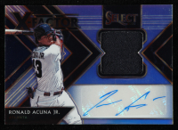 Ronald Acuna Jr. 2020 Select X-Factor Material Signatures Prizms Holo #8 at PristineAuction.com