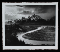 "Historical Photo Archive - ""Ansel Adams Snake River "" Limited Edition 18.25x22 Fine Art Giclee on Paper #/375 (PA LOA) at PristineAuction.com"
