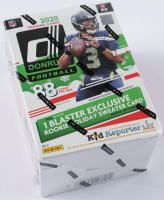 2020 Panini Donruss Football 11-Pack Blaster Box Holiday Edition of (88) Cards at PristineAuction.com