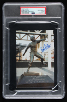 Bob Feller Signed 4x6 Indians Postcard (PSA Encapsulated) at PristineAuction.com