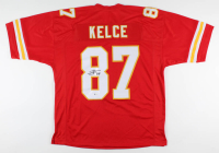 Travis Kelce Signed Jersey (Beckett COA) at PristineAuction.com