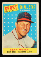 Stan Musial 1958 Topps #476 AS TP at PristineAuction.com
