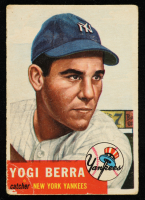 Yogi Berra 1953 Topps #104 at PristineAuction.com