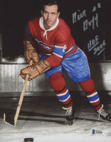 """Dick Duff Signed Canadiens 8x10 Photo Inscribed """"HOF 2006"""" (Beckett COA) at PristineAuction.com"""