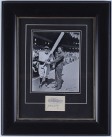 Jack Dempsey Signed 17x21 Custom Framed Cut Display (JSA ALOA) at PristineAuction.com