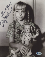 """Patty McCormack Signed """"The Bad Seed"""" 8x10 Photo Inscribed """"Thank You!"""" (Beckett COA) at PristineAuction.com"""