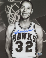 Lenny Wilkens Signed Hawks 8x10 Photo (Beckett COA) at PristineAuction.com