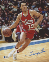 Lenny Wilkens Signed Trail Blazers 8x10 Photo (Beckett COA) at PristineAuction.com