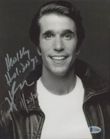 """Henry Winkler Signed """"Happy Days"""" 8x10 Photo Inscribed """"Healthy Holidays"""" & """"11/23/20"""" (Beckett COA) at PristineAuction.com"""