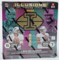 2020 Panini Illusions Football Mega Box with (7) Packs at PristineAuction.com