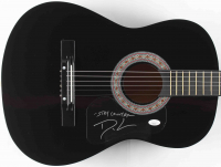 """Dustin Lynch Signed 38"""" Acoustic Guitar Inscribed """"Stay Country"""" (JSA COA) at PristineAuction.com"""