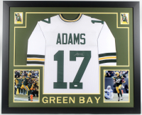 Davante Adams Signed 35x43 Custom Framed Jersey (JSA COA) at PristineAuction.com