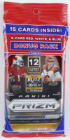 2020 Panini Prizm Football Cello Pack with (15) Cards at PristineAuction.com
