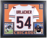 Brian Urlacher Signed 35x43 Custom Framed Jersey (JSA Hologram) at PristineAuction.com