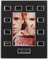 """Fight Club"" LE 8x10 Custom Matted Original Film / Movie Cell Display at PristineAuction.com"