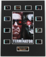 """""""The Terminator"""" LE 8x10 Custom Matted Original Film / Movie Cell Display at PristineAuction.com"""