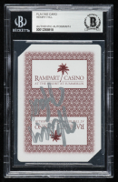"""Henry Hill Signed """"Rampart Casino"""" Playing Card (BGS Encapsulated) at PristineAuction.com"""