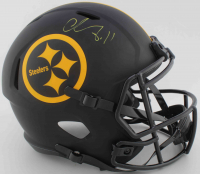 Chase Claypool Signed Steelers Full-Size Eclipse Alternate Speed Helmet (Beckett COA) at PristineAuction.com
