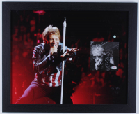 "Jon Bon Jovi Signed ""Bon Jovi 2020"" 18x22 Custom Framed CD Booklet Display (PSA COA) at PristineAuction.com"