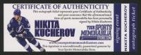Nikita Kucherov Signed Jersey (YSMS COA) at PristineAuction.com