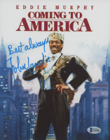 "John Landis Signed ""Coming To America"" 8x10 Photo (Beckett COA) at PristineAuction.com"