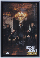 "Jon Bon Jovi Signed ""Bon Jovi 2020"" 14.5x20.5 Custom Framed Poster Display (PSA Hologram) at PristineAuction.com"