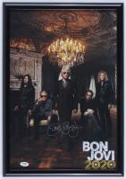 """Jon Bon Jovi Signed """"Bon Jovi 2020"""" 14.5x20.5 Custom Framed Poster Display (PSA COA) at PristineAuction.com"""