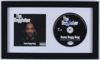 """Snoop Dogg Signed """"Tha Doggfather"""" 8x14 Custom Framed CD Cover Display (PSA Hologram) at PristineAuction.com"""