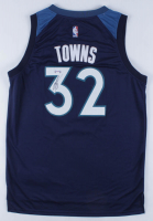Karl-Anthony Towns Signed Timberwolves Jersey (PSA Hologram) at PristineAuction.com